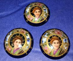 Japanese Button Covers